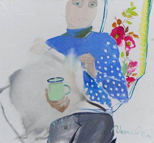 Neonilla Medvedeva - ...(8 from 10) - 2009 - oil on canvas - 24 x 25