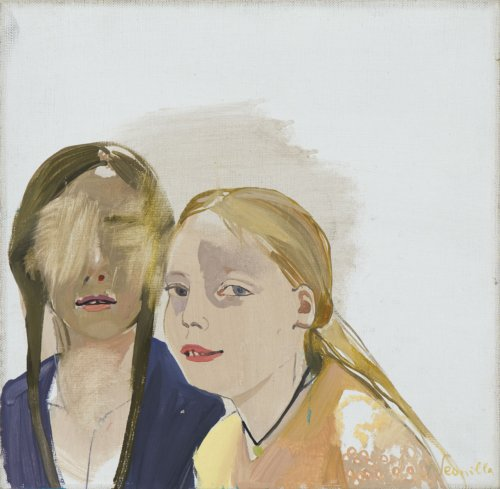 Neonilla Medvedeva - sisters (4 from 10) - 2009 - oil on canvas - 25 x 25,5