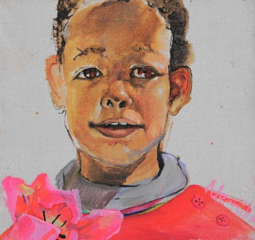 Neonilla Medvedeva - Eliass - 2009 - oil on canvas - 20 x 19
