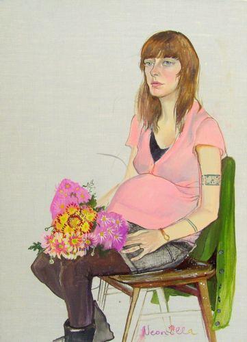Neonilla Medvedeva - Oxana - 2009 - oil on canvas - 37,5 x 28