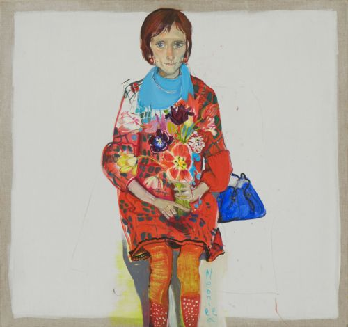 Neonilla Medvedeva - Asnate/Flowers - 2009 - oil on canvas - 45 x 48