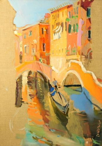 Neonilla Medvedeva - Venice 2 - oil on canvas - 35 x 25 - 2008