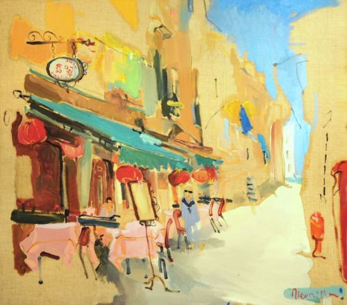 Neonilla Medvedeva - Venice 6 - oil on canvas - 45 x 50 - 2008