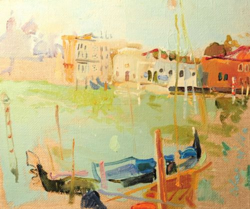 Neonilla Medvedeva - Venice 3 - oil on canvas - 25 x 30 - 2008