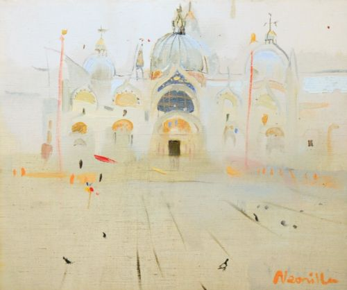 Neonilla Medvedeva - San Marco - oil on canvas - 25 x 30 - 2008 - sold