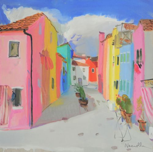 Neonilla Medvedeva - Burano 2 - oil on canvas - 49 x 50 - 2010