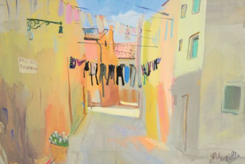 Neonilla Medvedeva - Venice - oil on canvas - 48 x 67  - 2010